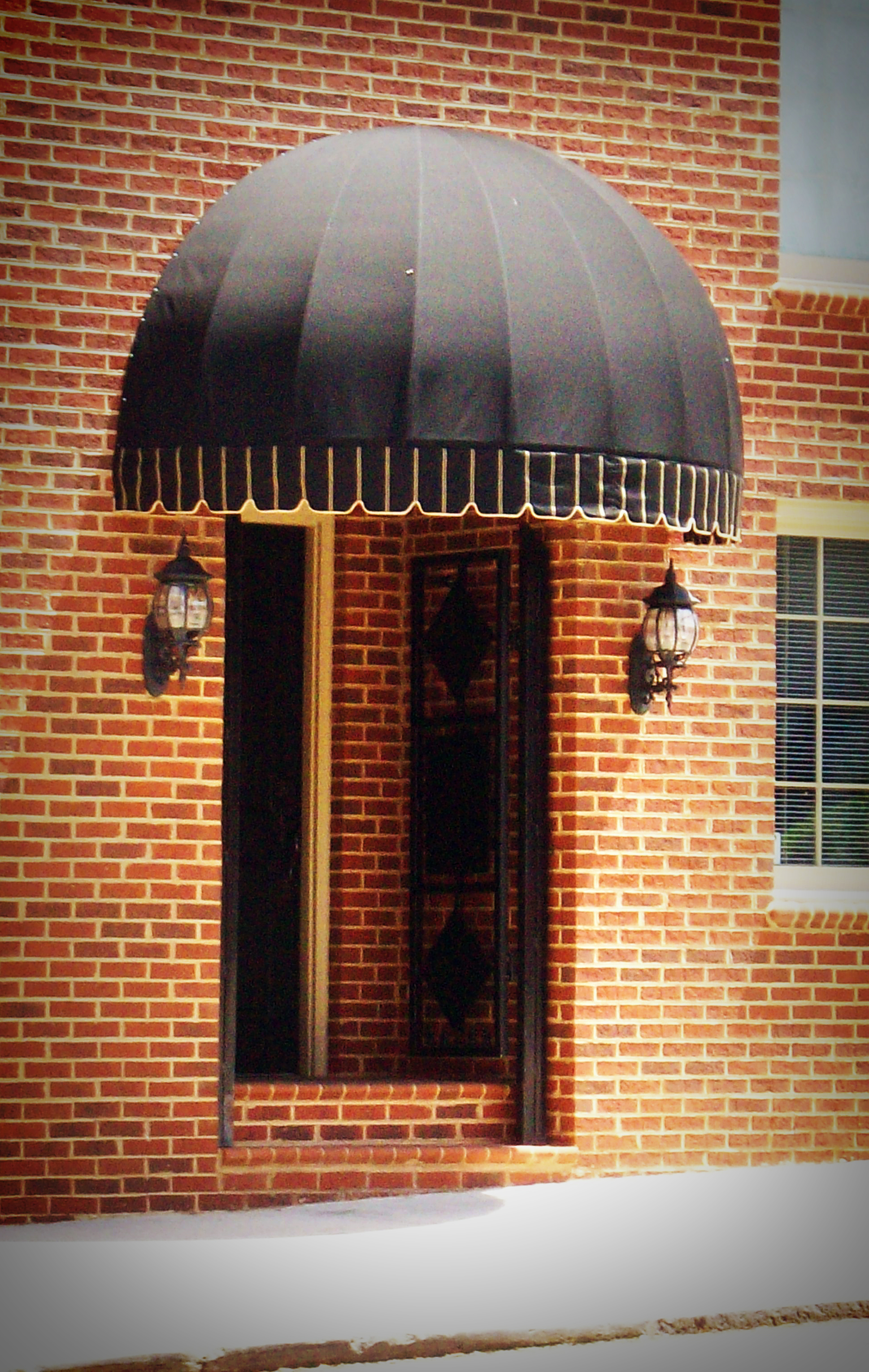 dome awnings for homejw squire co inc awnings dome awning